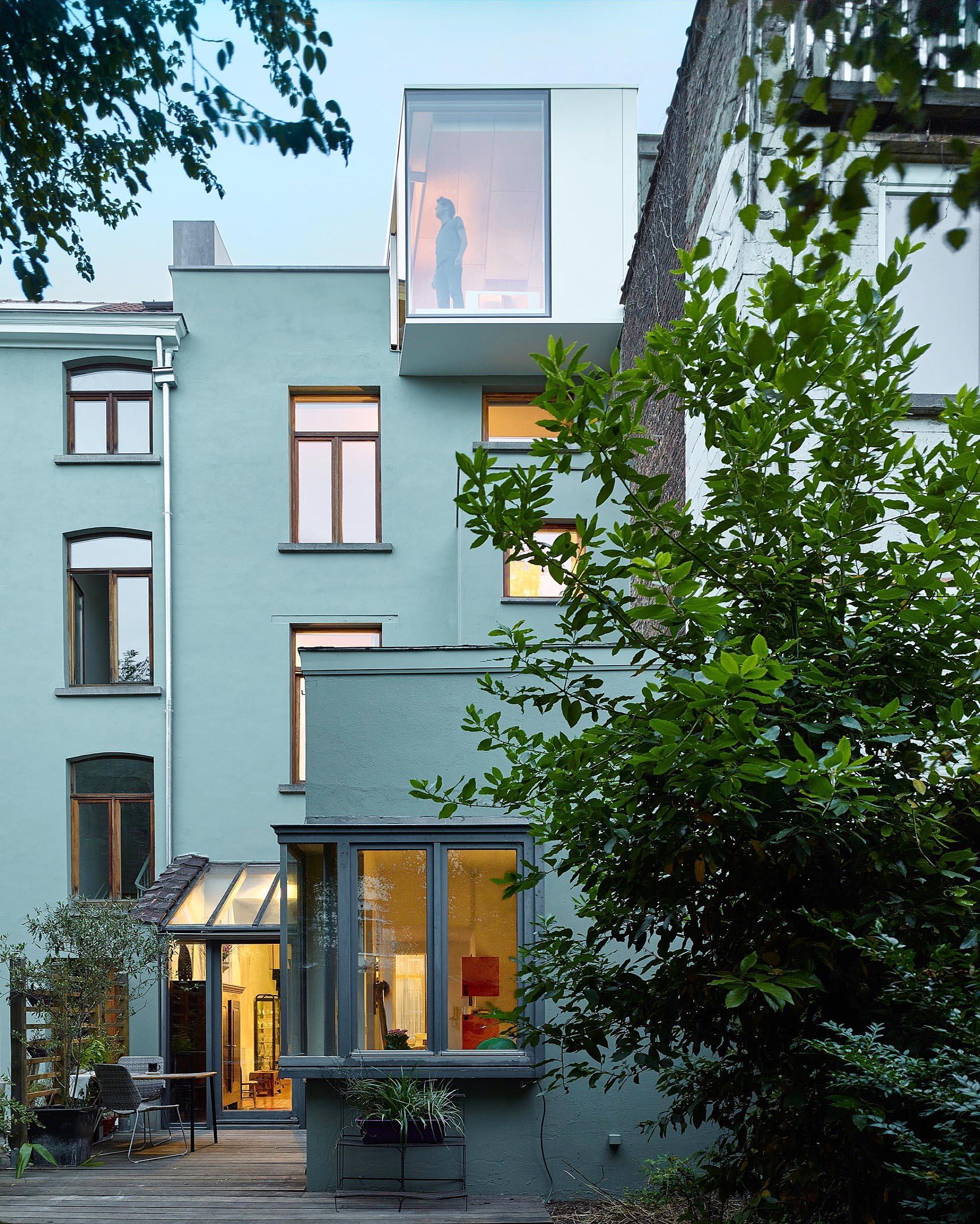 Обновленный дом в Бельгии