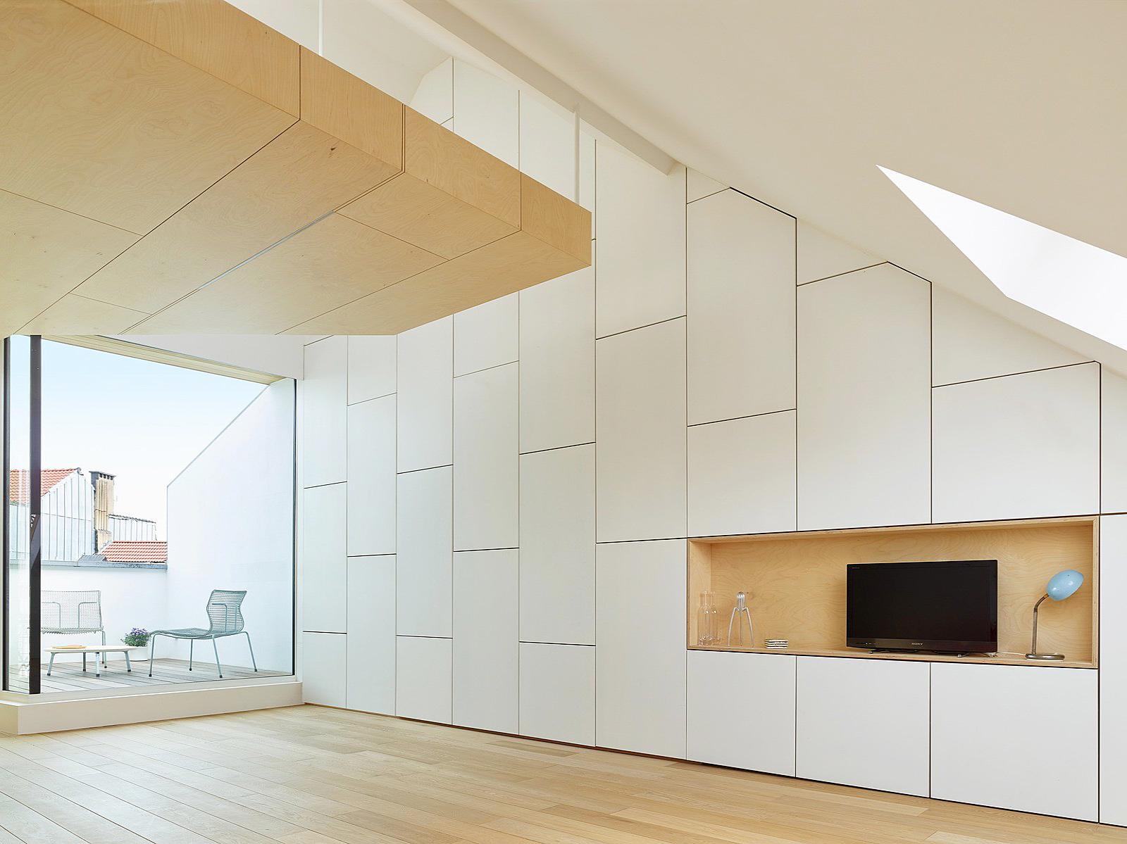 Обновлённый дом в Бельгии