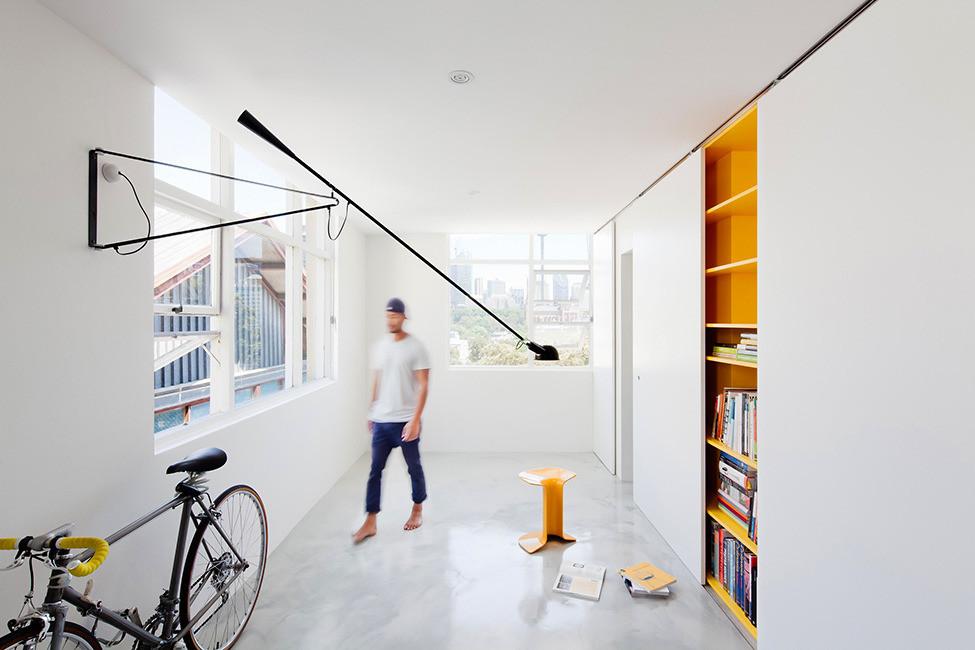Современный интерьер студии