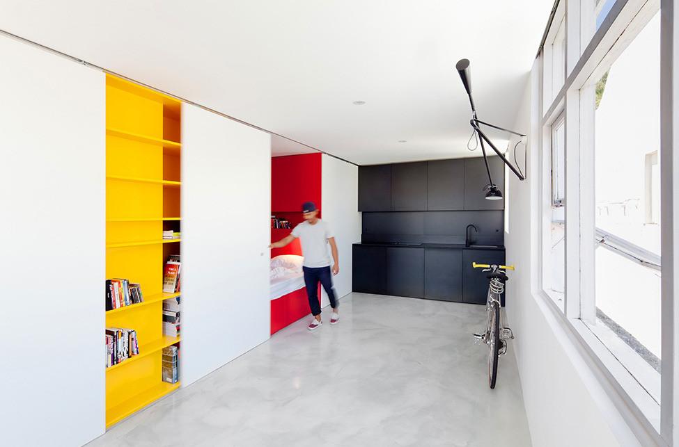 Современный интерьер квартиры студии