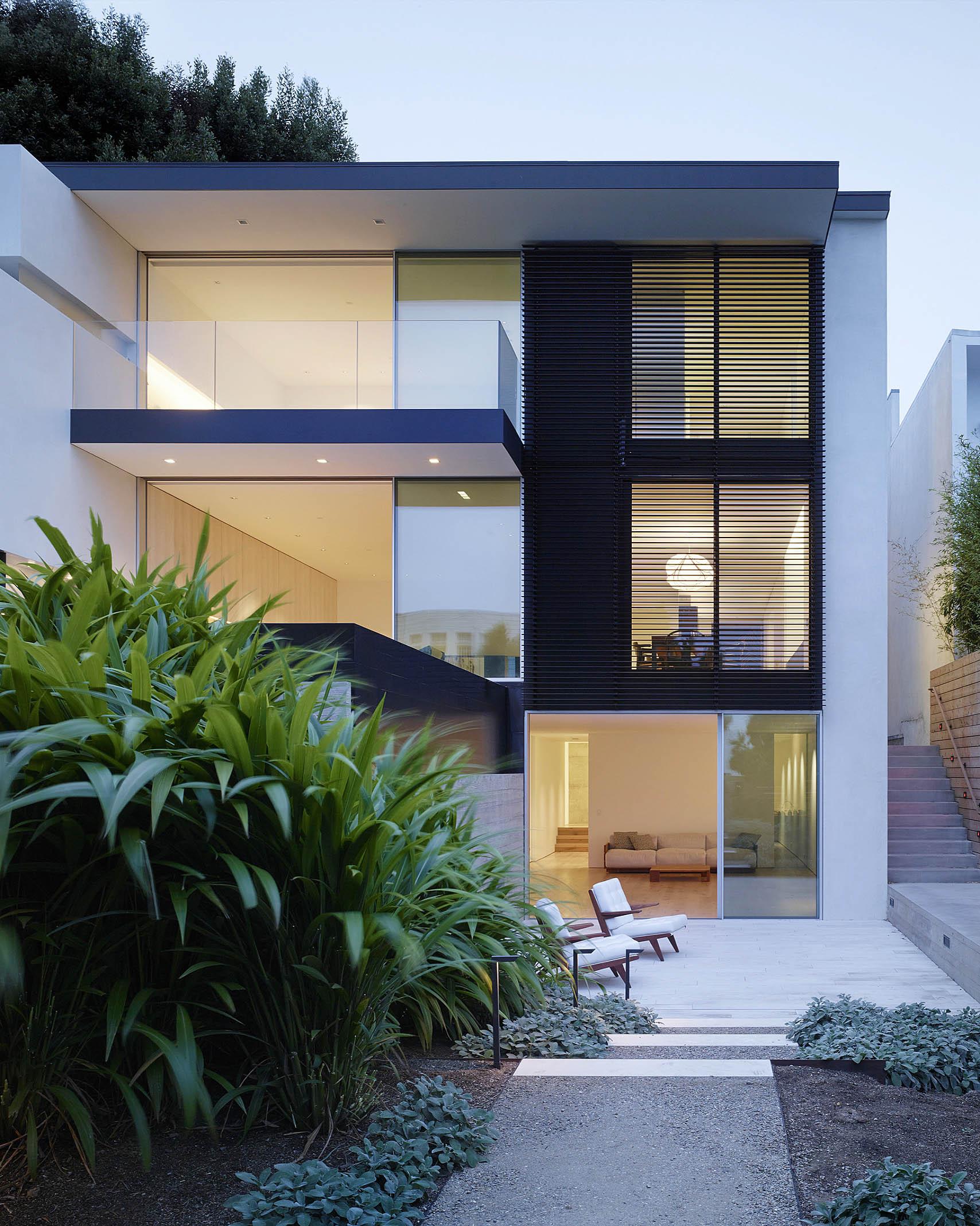Современный дом в Сан-Франциско