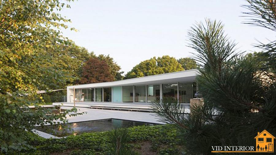 Яркие черты минимализма в архитектуре современного особняка