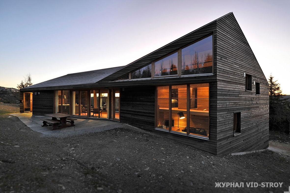 аскетичный современный дом