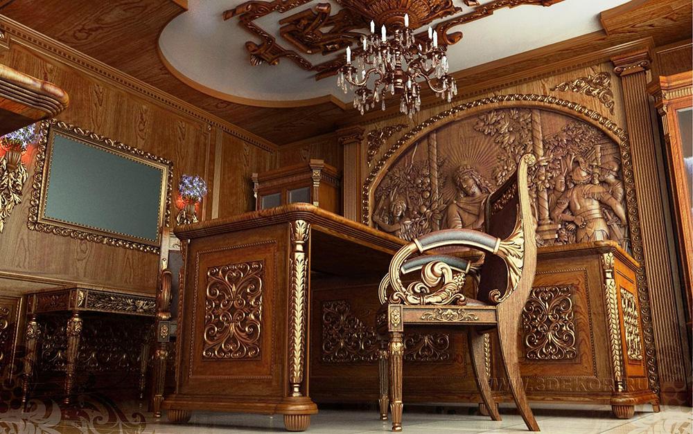 кабинет в стиле барокко