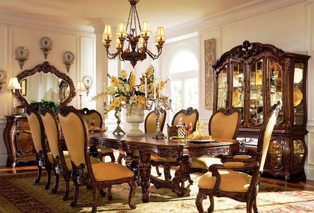 роскошный стол в барокко