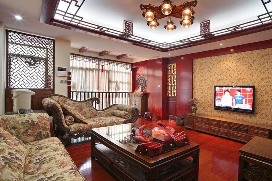 зал в китайском стиле