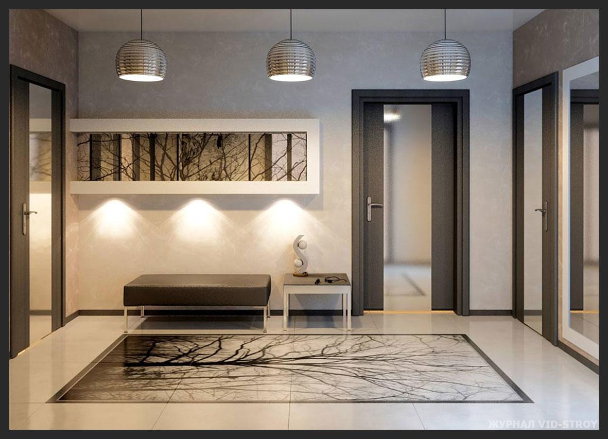 коридор в стиле Контемпорари