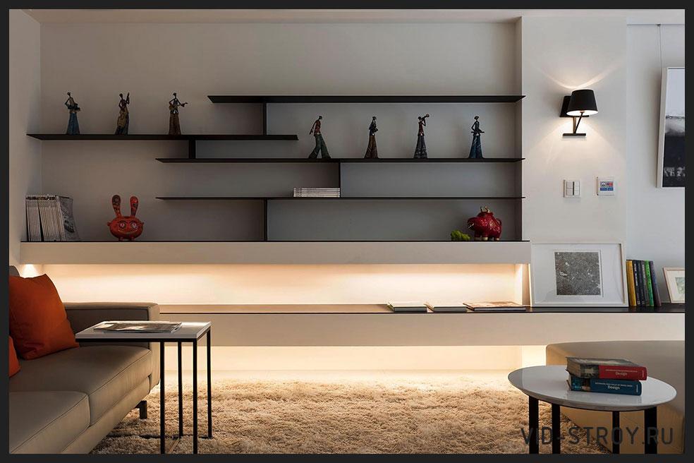 стиль минимализм в квартире
