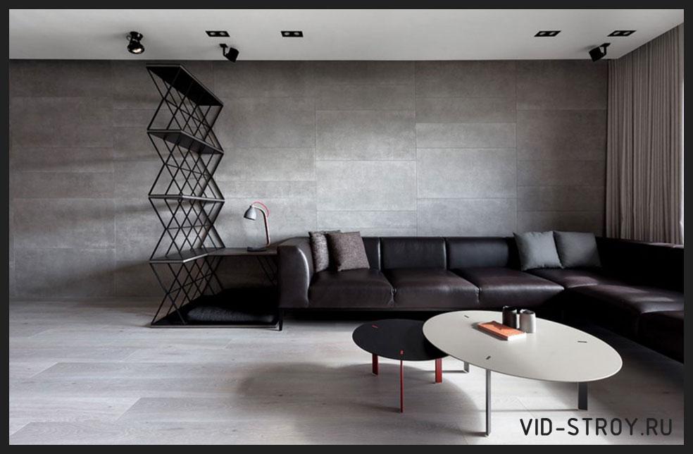 минималистичный интерьер комнаты