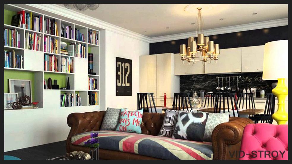 поп-арт в интерьере квартиры