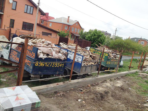 Вывоз мусора в Ростове фото